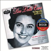Lisa della Casa: Operatic Recital - Arias & songs by Handel, Mozart, Schubert, Brahms, Wolf, R. Strauss / Karl Hudez, piano