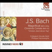 J.S. Bach: Magnificat BWV 243a; Christmas Cantata BWV 63 / Collegium Vocale Gent; Herreweghe