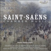 Saint-Saëns: Chamber Music - The sonatas for bassoon, oboe, clarinet; Romance for Horn, Op. 67; Romance for Flute, Op. 37; Caprice, Op. 79 / Akane Makita, piano