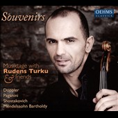 Souvenirs: Musiktage with Rudens Turku (violin) & Friends - Works of Doppler, Paganini, Shostakovich & Mendelssohn