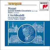 Mozart: Grand Sestetto Concertante, etc / L'Archibudelli