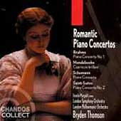 Romantic Piano Concertos - Brahms, Schumann, etc / Margalit