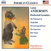 American Classics - Anderson: Orchestral Favourites / Hayman