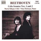 Beethoven: Cello Sonatas no 1 & 2, etc / Kliegel, Tichman