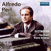 Beethoven: Great Piano Sonatas / Alfredo Perl
