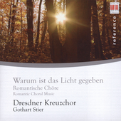 Reger, Bruckner, Mauersberger / Dresden Boys Choir