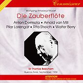 Mozart: Die Zauberfl&#246;te / Sir Thomas Beecham, et al