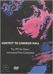 Contest to Carnegie Hall - 5th Van Cliburn Competition. Various [DVD]