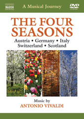 A Musical Journey: The Four Seasons - Austria, Germany, Italy, Switzerland, Scotland; Music by Antonio Vivaldi / Takako Nishizaki, violin [DVD]