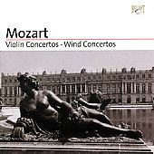 Mozart: Violin Concertos, Wind Concertos / Leppard, Goodman