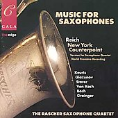 Music For Saxophones - Reich, et al / Raschèr Quartet