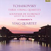 Tchaikovsky: Three String Quartets, etc / Ying Quartet