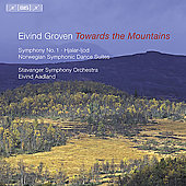 Towards the Mountains - Groven: Symphony no 1, etc / Aadland
