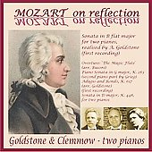 Mozart on Reflection / Goldstone-Clemmow Duo