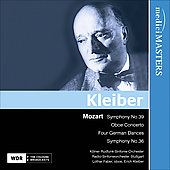 Mozart: Symphony no 39, et al / Erick Keiber