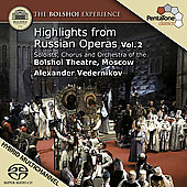 Highlights from Russian Operas Vol 2
