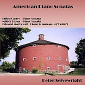 American Piano Sonatas - Carter, R&oacute;zsa, MacDowell / Peter Seivewright