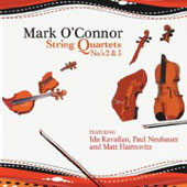 O'Connor: String Quartets no 2 & 3 / O'Connor, Kavafian, Neubauer, Haimovitz