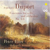 Duport: Concertos for Violoncello & Orchestra [SACD]