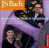 Bach: Six Sonatas for Violin & Harpsichord