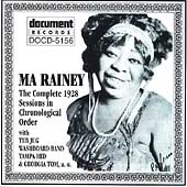 Ma Rainey: Complete Recorded Works: 1928 Sessions