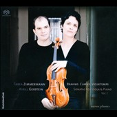 Sonatas for Viola & Piano, Vol. 1: Brahms, Clarke, Vieuxtemps