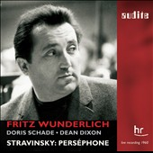 Stravinsky: Pers&eacute;phone / Wunderlich