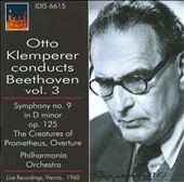 Otto Klemperer Conducts Beethoven, Vol. 3