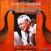 Schubert: Grand Duo; Fantasia; Sonata in A minor / Josef Gingold