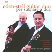 Playing For Two: works by Roland Dyens, Nikita Koshkin, Leo Brouwer and Dusan Bogdanovich