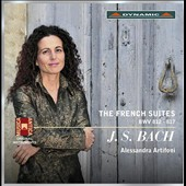 J.S. Bach: The French Suites, BWV 812-817 / Alessandra Artifoni