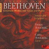 Beethoven: Complete Works for Cello & Piano / Honigberg