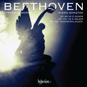 Beethoven: Piano Sonatas Op. 90 in E minor, Op. 101 in A major, Op. 106 'Hammerklavier' / Steven Osborne, piano