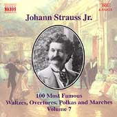 J. Strauss Jr.: 100 Most Famous Waltzes Vol 7