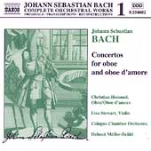 Naxos Bach Edition 1 - Concertos for Oboe, Oboe d'Amore