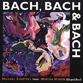 Bach, Bach & Bach / Michael Zaretsky, Marina Minkin