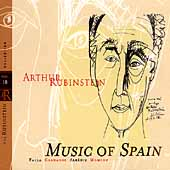 Rubinstein Collection Vol 18 - Music of Spain