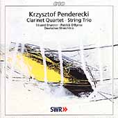 Penderecki: Chamber Works / Brunner, O'Byrne, Deutsches Trio