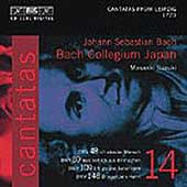 Bach: Cantatas Vol 14 / Suzuki, Bach Collegium Japan