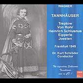 Wagner: Tannh&auml;user / Schlusnus, Treptow, Von Rohr, Schroder