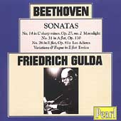 Beethoven: Piano Sonatas no 14, 26, 31, etc /Friedrich Gulda