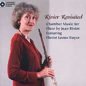 Rivier Revisited - Chamber Music for Flute / Leone Buyse
