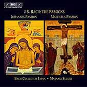 Bach: Johannes-Passion, Matth&auml;us-Passion / Suzuki, et al
