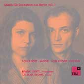 Music for Saxophone from Berlin Vol 1 (1930-32) / F. Lunte