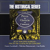 Historical - Rameau: Pi&egrave;ces de Clavecin / Leonhardt, et al