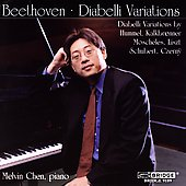 Beethoven: Diabelli Variations;  Liszt, et al / Melvin Chen