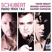 Schubert: Complete Piano Trios / Capu&#231;ons, Braley