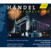 Handel: Instrumental Highlights / Mackerras, Marriner, et al