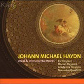 M. Haydn: Vocal & Instrumental Music / Heyerick, et al