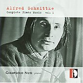 Schnittke: Complete Piano Music Vol 1